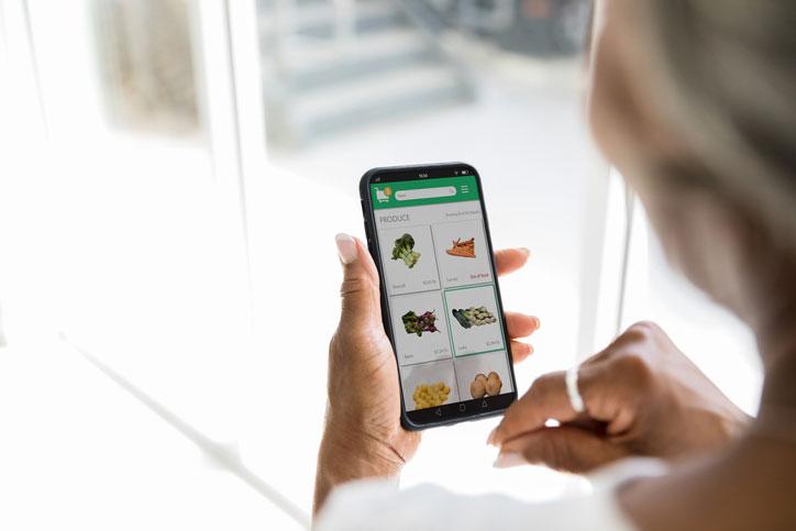 online groenten bestellen op ITReflex ecommerce site