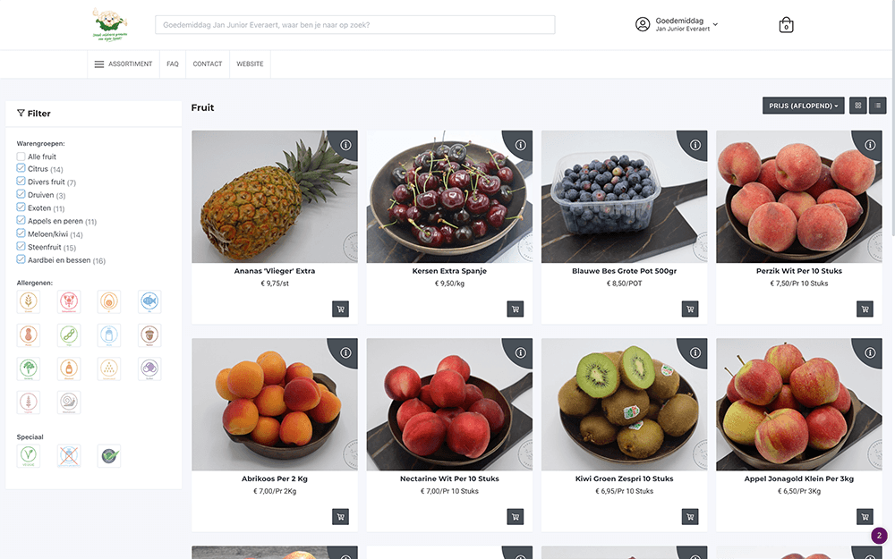 Ecommerce website ITReflex