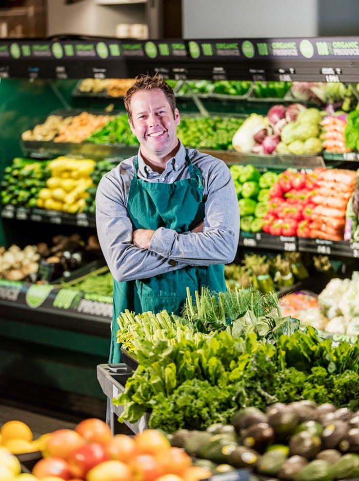 Groenten en fruitwinkel