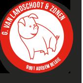 VLEESHALLE VAN LANDSCHOOT logo