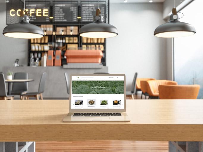 ecommerce shop ITReflex koffiebar
