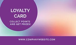 Casanova loyaliteitskaart